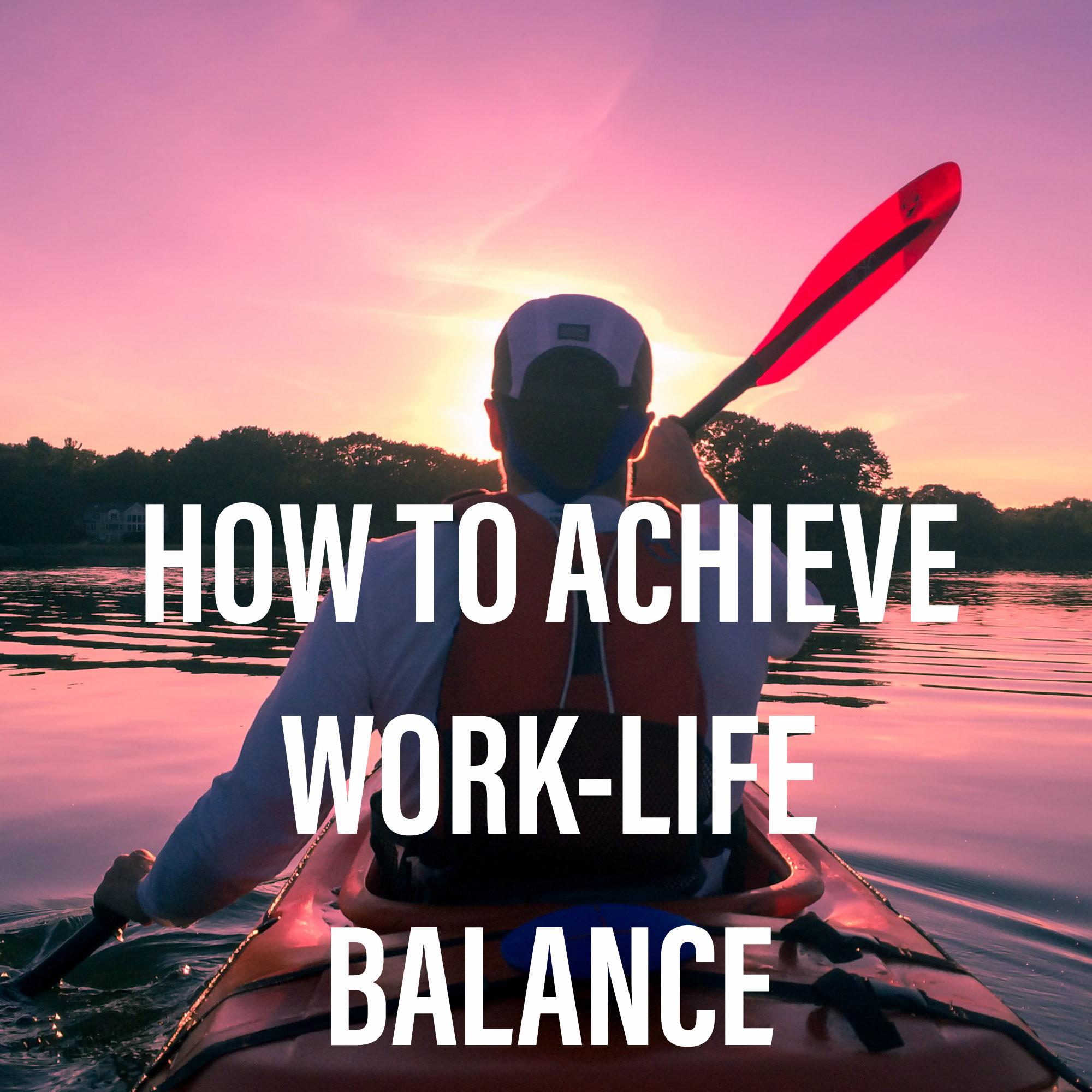 balance, course, training, work, work-life